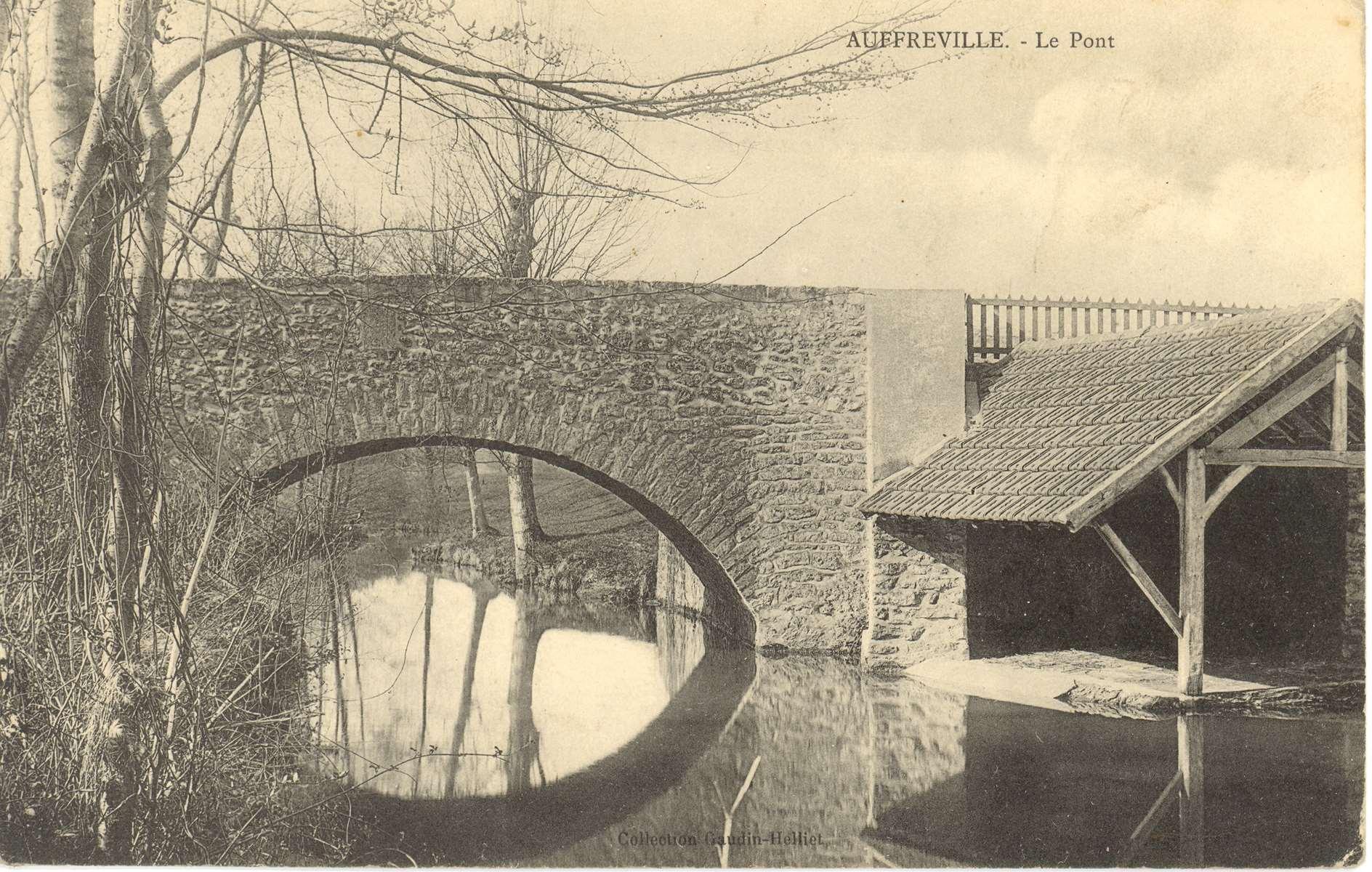 lavoir pont Auffreville