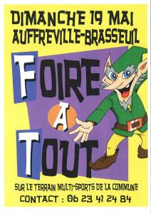Foire à tout 2019 @ terrain multiactivités | Auffreville-Brasseuil | Île-de-France | France