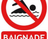 INTERDICTION DE BAIGNADE