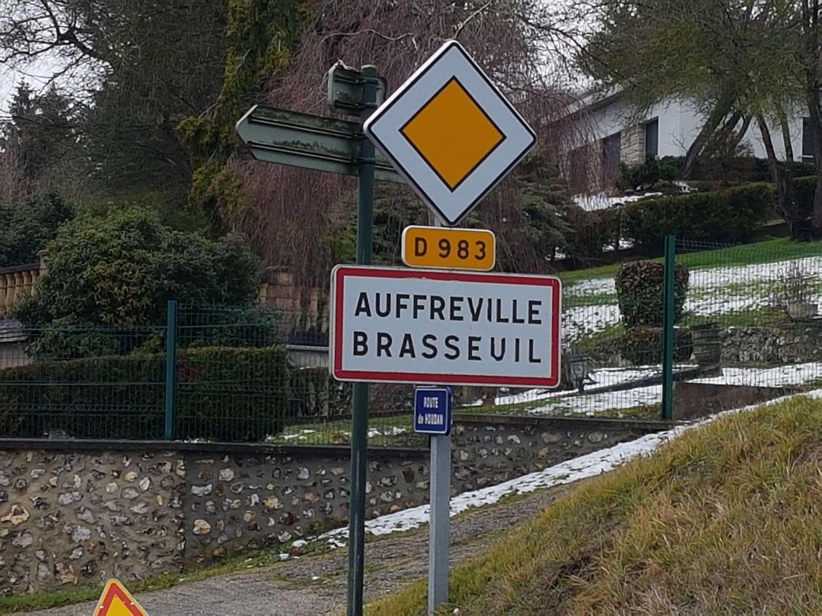 panneau entrée village